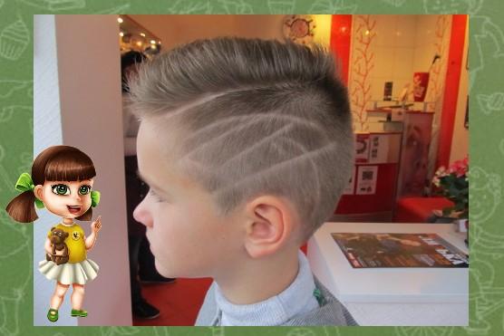 рисунки для мальчиков на голове фото