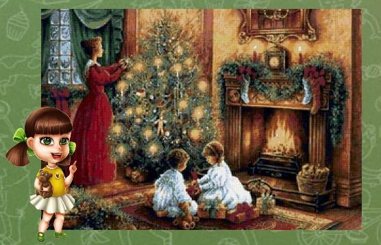 Рождество дома