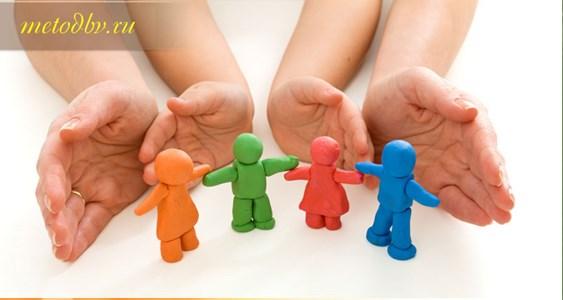детские руки