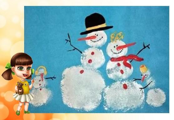 рисование зимы