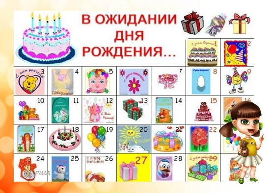 ко дню рождения