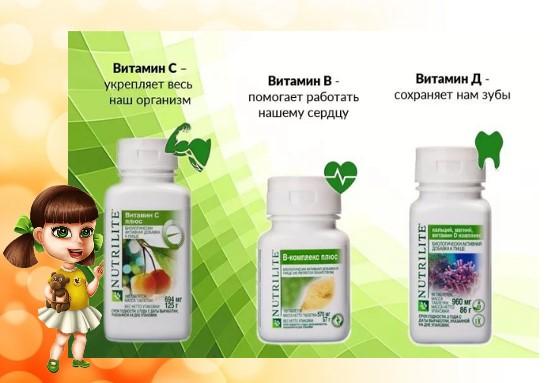 витамины БСД