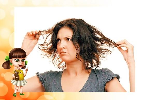 Укладка жирных волос