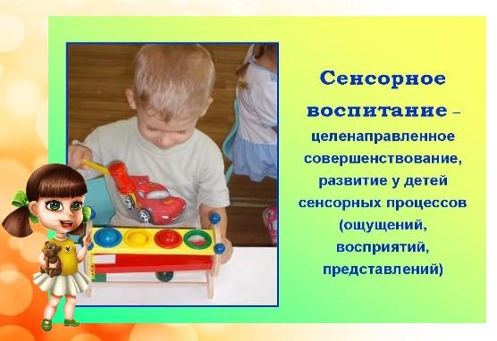 сенсорное воспитание