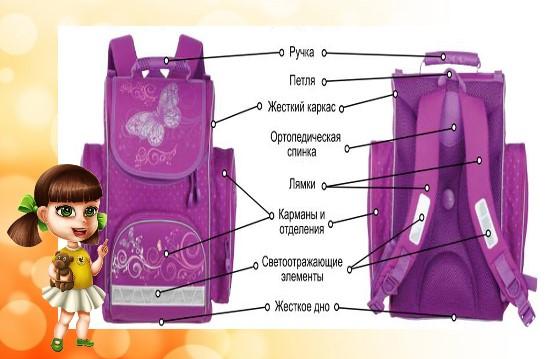 анатомический рюкзак