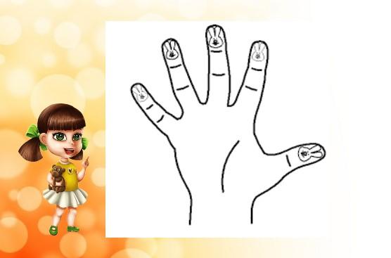 рисунки на пальцах