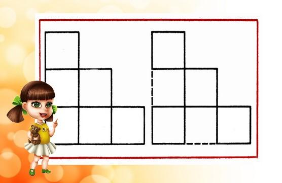 6 квадратов