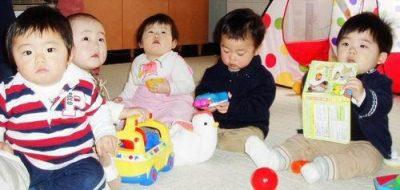 дети Японии в садике