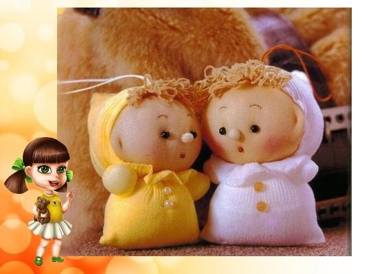 куклы из разных материалов