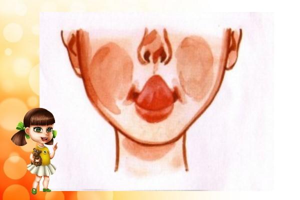 кончик языка