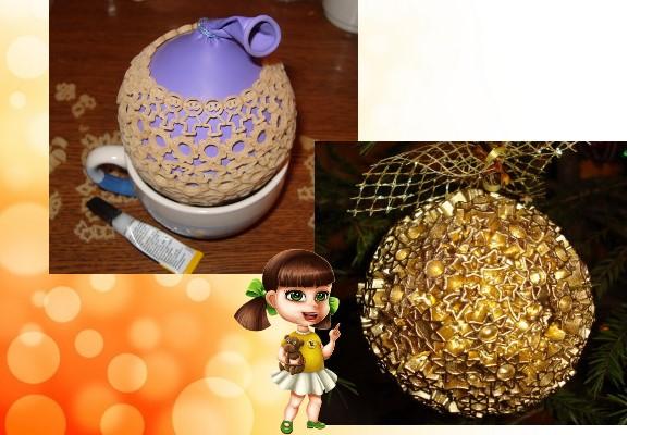 макаронный шар