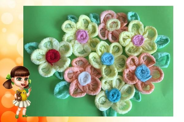 ажурные цветы