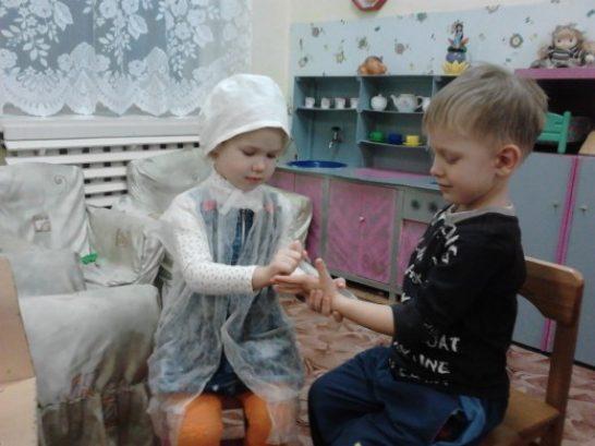 Анализ сюжетно ролевой игры «больница» в детском саду.