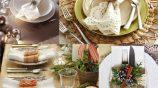 Украшение квартиры, сервировка стола на Новый год