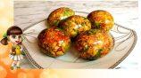 Мраморные яйца на Пасху — красим и делаем поделки