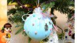 Большие игрушки на елку своими руками — несколько идей