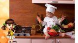 Дети на кухне — как не заскучать, пока мама готовит?
