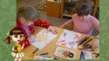 Рисование в подготовительной группе — приемы и техники