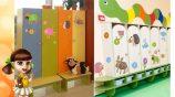 Какие бывают шаблоны на детские шкафчики