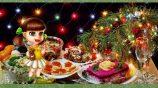 Новогодний стол: составляю меню блюд