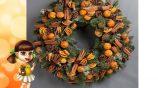 Мастер-класс по изготовлению рождественских венков из шишек и мишуры